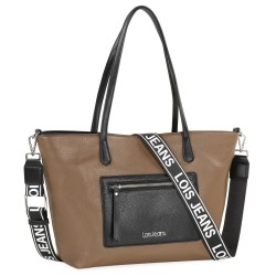 BOLSO SHOPPING LOIS TAUPE...